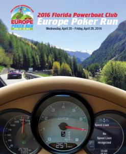 2016 European Poker Run