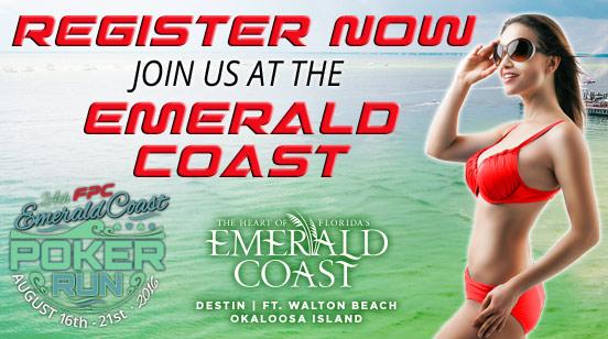 Coming Up Next on the Radar: Emerald Coast Poker Run 2016