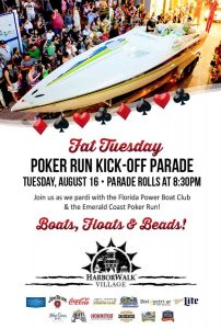Join The Pardi in Paradise at the Emerald Coast Poker Run!