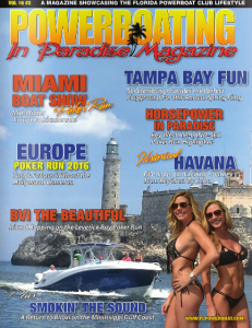 Powerboating in Paradise Vol16 #2