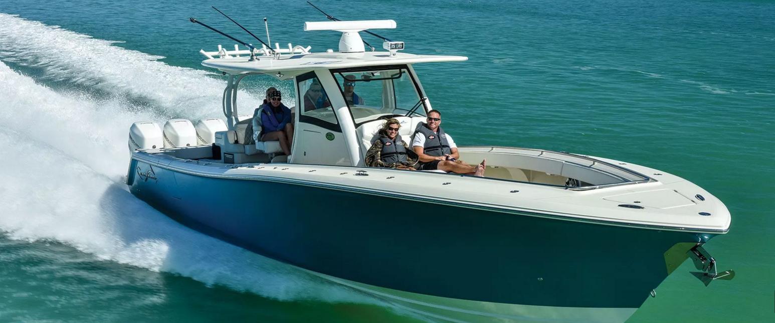 Stu Jones Welcomes Center Console Boats At Poker Runs